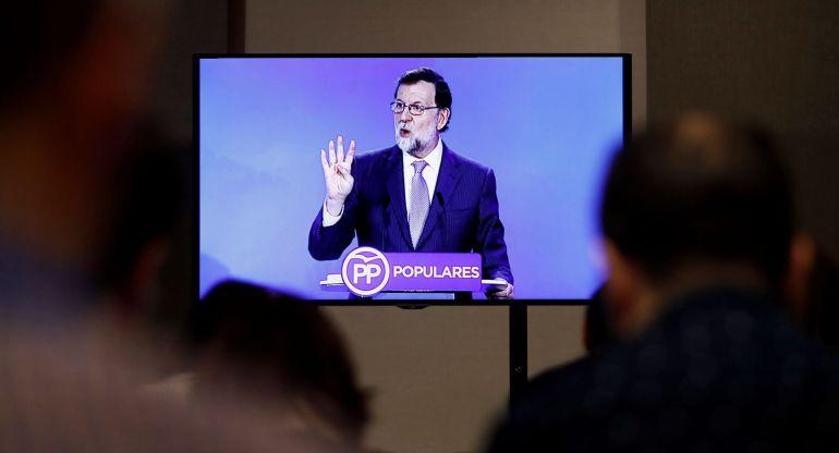 Mariano Rajoy interviene el pasado día 11