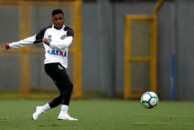 El Real Madrid ficha al brasileño de 17 años Rodrygo