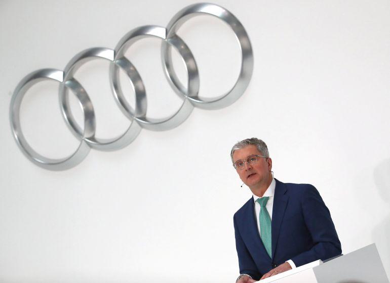 El CEO de Audi, Rupert Stadler.