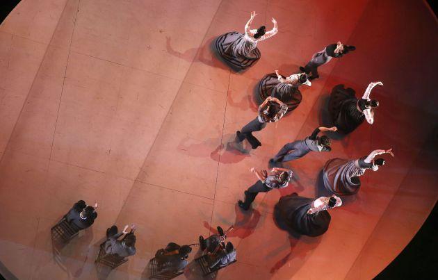 FOTOGALERÍA   Actuación durante la entrega de la XXI edición de los Premios Max de las Artes Escénicas.