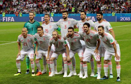 El once de España, con Carvajal y Lucas como novedades.