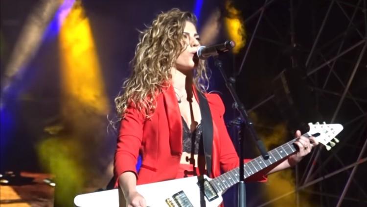 El aplaudido mensaje feminista de Miriam en el concierto de OT en Pamplona