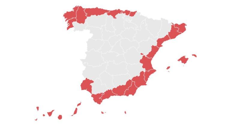 Las peores playas de España, según los ecologistas
