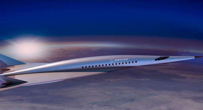 El avión hipersónico de Boeing.