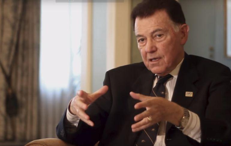 Francisco Ayala, durante una entrevista a OpenMind.