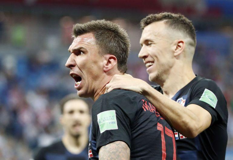 Mandzukic celebra su gol