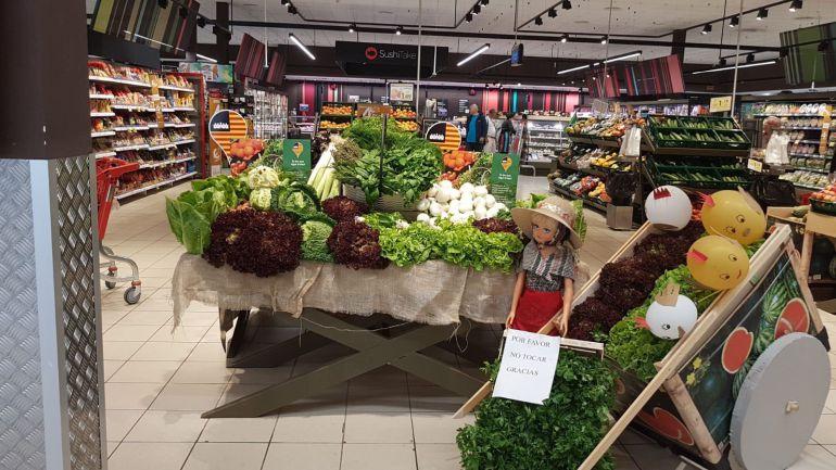 Fruta y verdura en Eroski