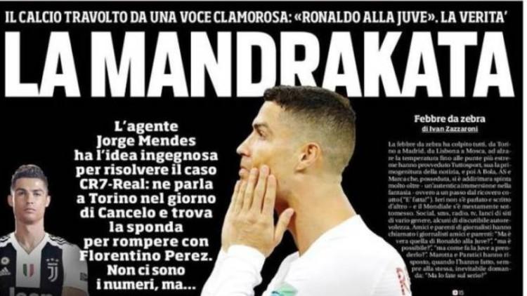 La prensa italiana, impresionada con el movimiento de la Juve