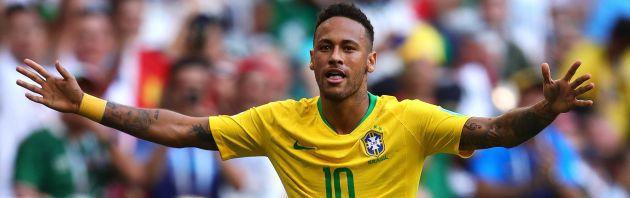 De los pocos momentos felices de Neymar en un Mundial muy gris para él