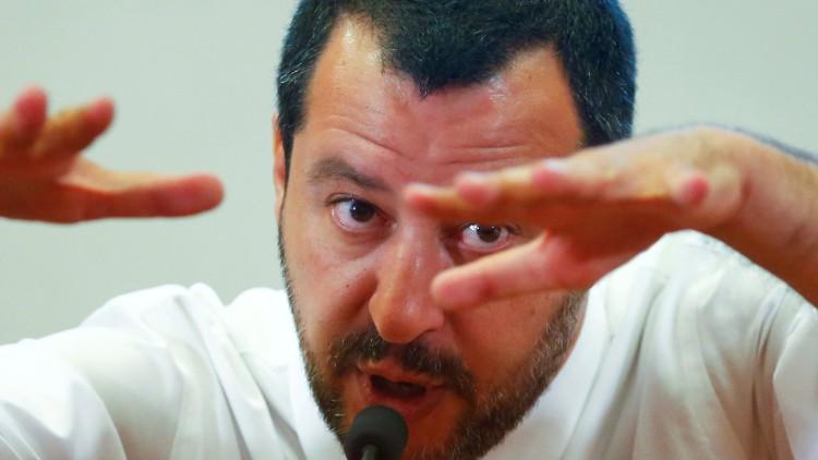 Salvini pedirá que no lleguen a Italia los barcos de las misiones europeas