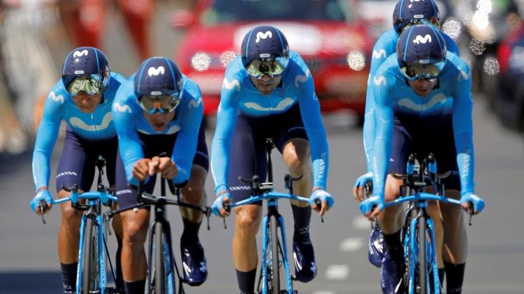 El BMC gana la crono por equipos y Van Avermaet se pone líder