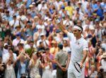 Federer durante su partido contra Mannarino