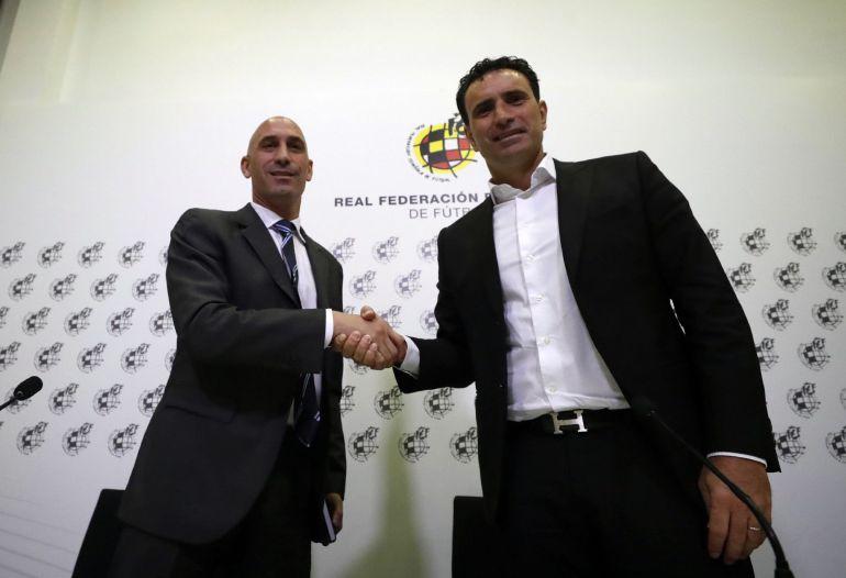 Resultado de imagen de Molina, nuevo director deportivo de la RFEF