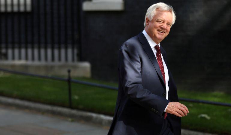 El ministro británico para el 'brexit', David Davis, deja su cargo.