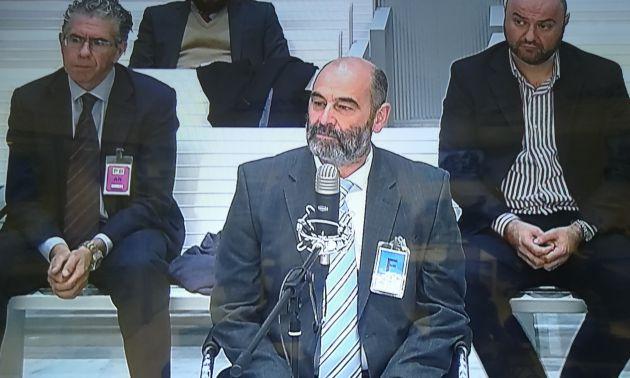 El jefe de Talamino en la UCO durante su testifical en el juicio