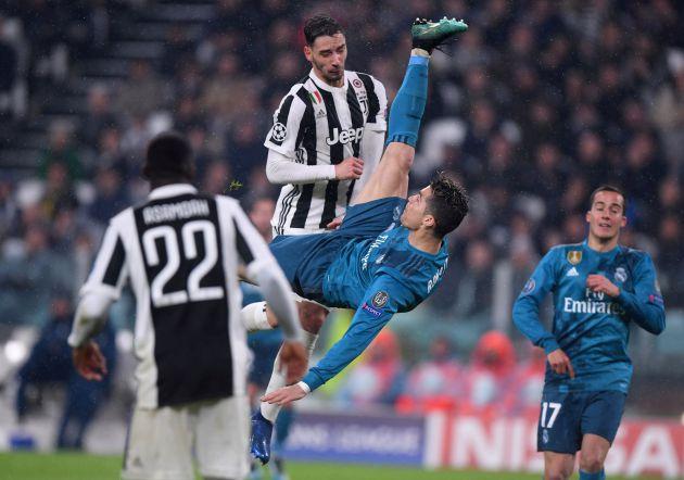 Cristiano marca de chilena en el Juventus Stadium