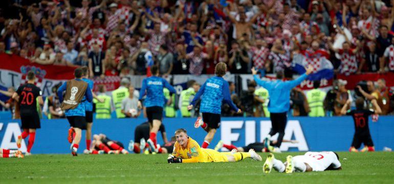 Croacia e Inglaterra tras el final del partido