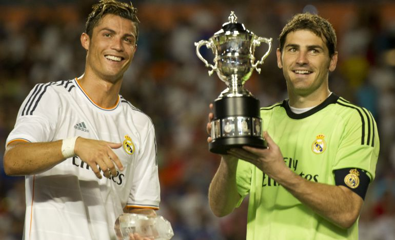 Cristiano y Casillas, en una imagen de 2013.