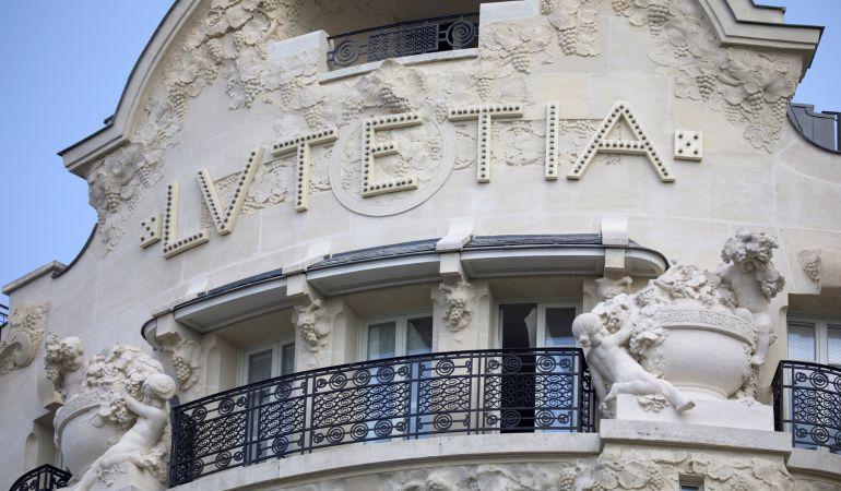FOTOGALERÍA | Fachada del hotel Lutetia en Paris, Francia.