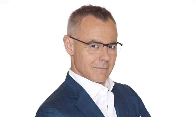 Jordi González, presentador de Mediaset España