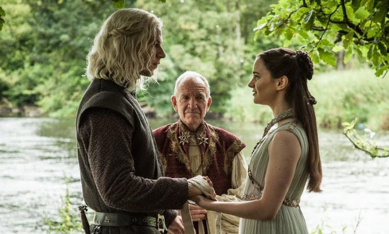 La boda de Rhaegar Targaryen y Lyanna Stark en 'Juego de tronos'