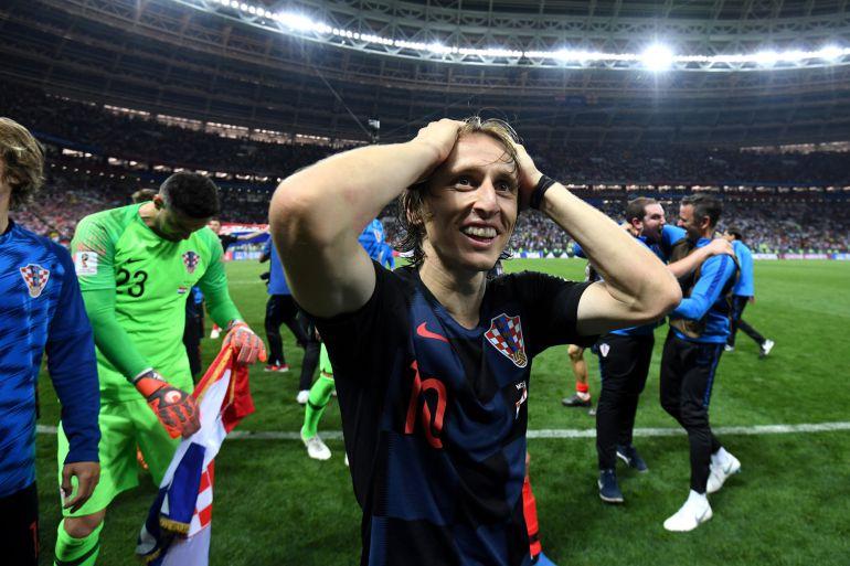 Modric, tras la victoria de Croacia ante Inglaterra