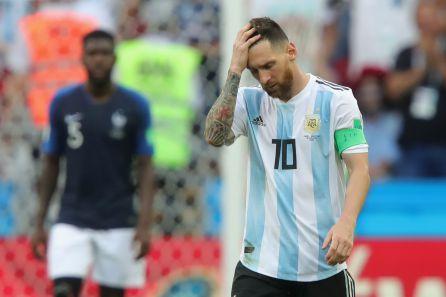 Messi ha hecho una gran temporada con el Barça, pero se volvió a estrellar con Argentina