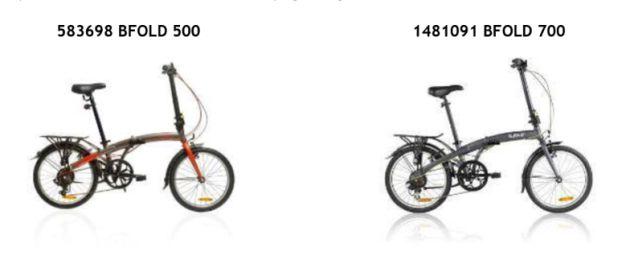 La compañía alerta sobre un posible defecto en las bicicletas.
