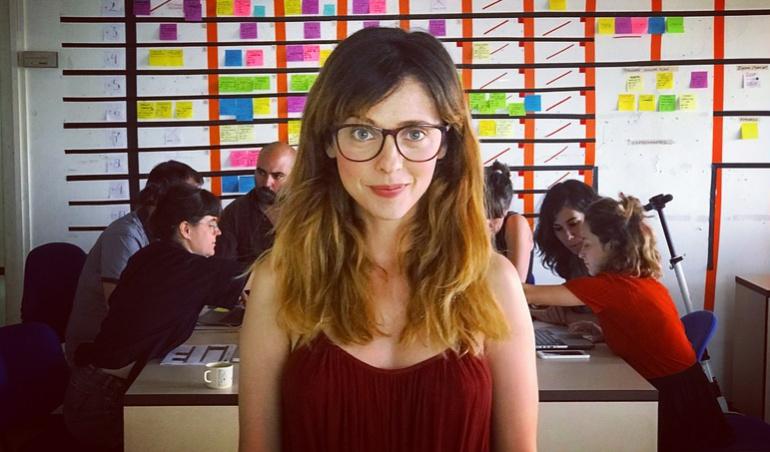 Leticia Dolera, responsable de la nueva serie de Movistar
