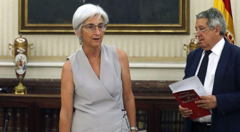 María José Segarra toma posesión de su cargo como fiscal general del Estado ante el Consejo Fiscal