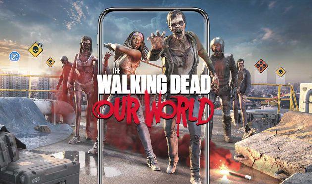 'The Walking Dead' lanza un videojuego para teléfonos móviles al estilo 'Pokémon GO'