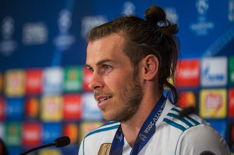 Gareth Bale tras la final de Kiev.