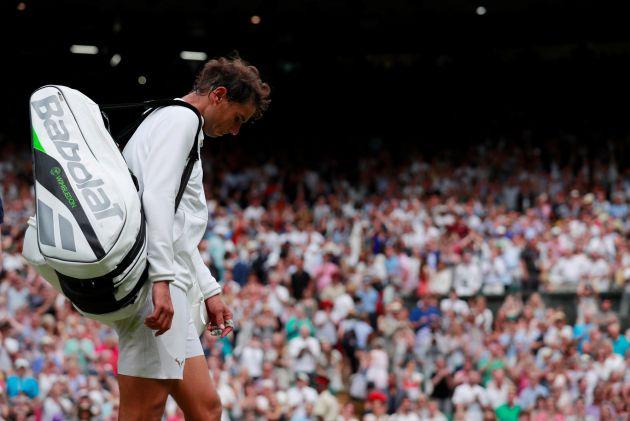 Rafa Nadal abandona Wimbledon