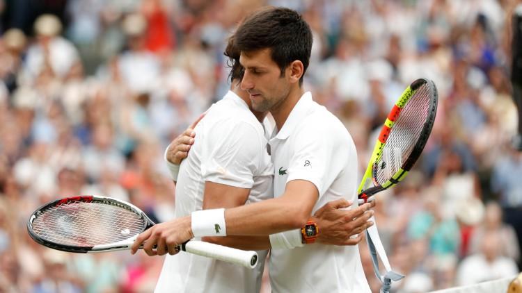 """Djokovic: """"Nadal es el mayor luchador de este deporte, es algo impresionante"""""""