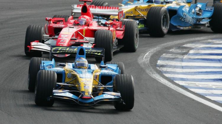 Los adelantamientos para el recuerdo de Fernando Alonso