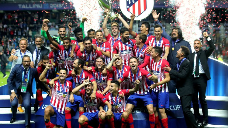 Un sólido Atlético de Madrid gana la Supercopa de Europa al Real Madrid