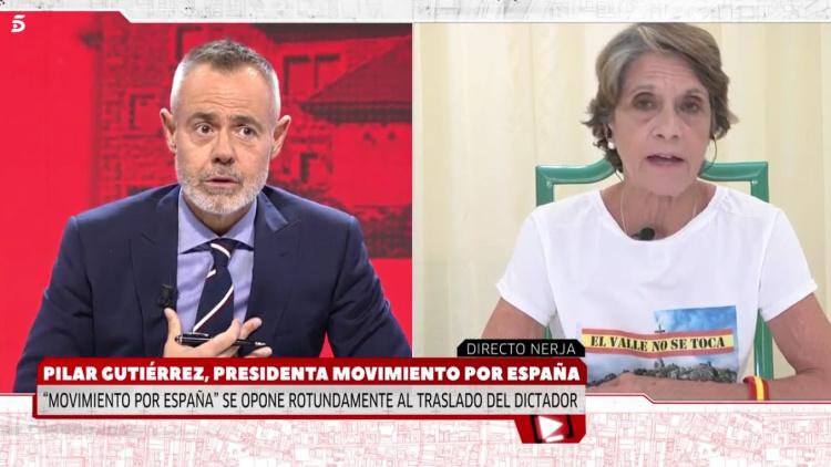 El surrealista encontronazo entre Jordi González y la franquista Pilar Gutiérrez