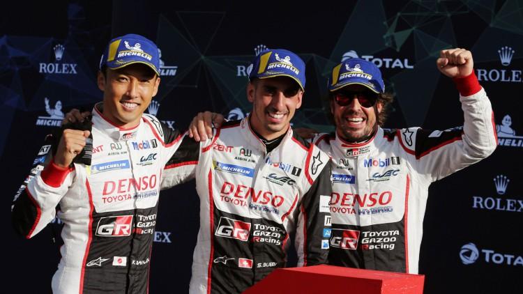 El Toyota de Fernando Alonso descalificado en las Seis horas de Silverstone