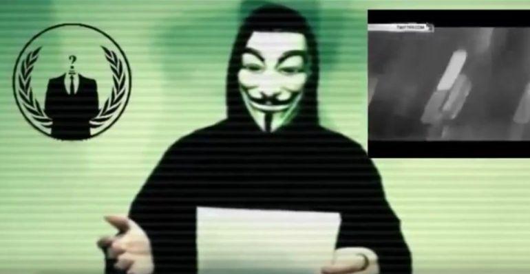 """Anonymous ataca las webs del PSOE, el Constitucional y la Policía por """"herir Cataluña"""""""