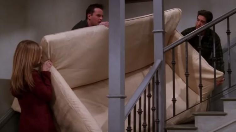 La ciencia resuelve una de las escenas más icónicas de 'Friends'