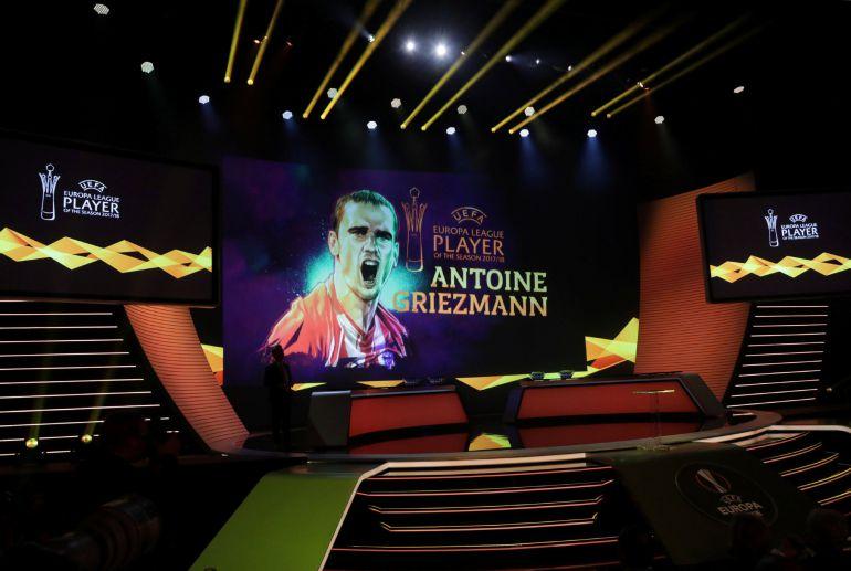 Antoine Griezmann, mejor jugador de la Liga Europa