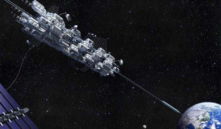 Japón inició pruebas para lanzar un ascensor espacial en el 2050 - Tecnología