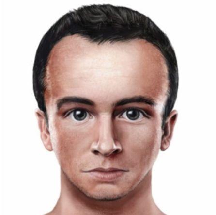 Imagen de la evolución del rostro humano.