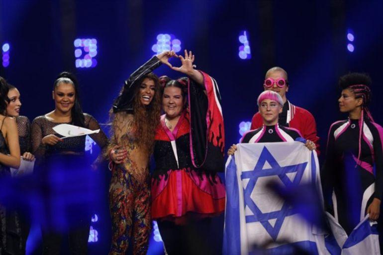 Representantes de Israel en Eurovisión.