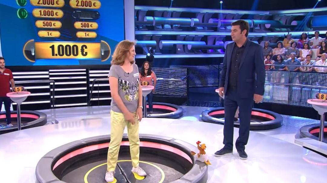 'Ahora Caigo' elimina a una concursante tras un error inédito en los 7 años del concurso