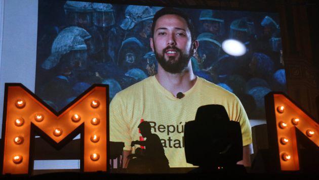 El vídeo de Valtònyc que s'ha projectat a la Festa de la Llibertat