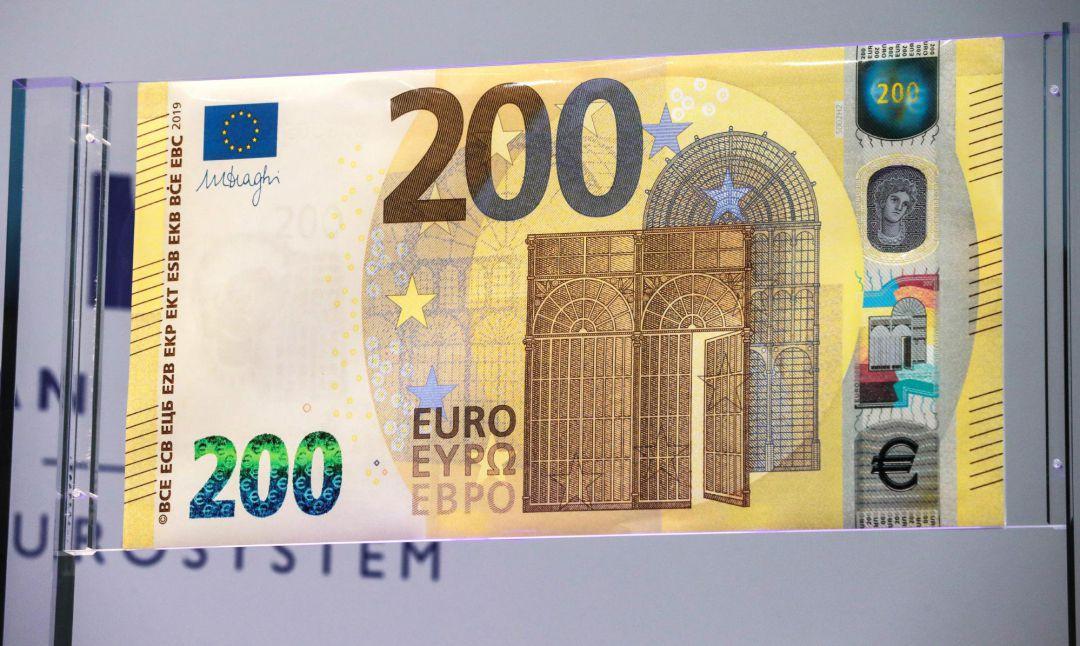 as son los nuevos billetes de 100 y 200 euros econom a cadena ser. Black Bedroom Furniture Sets. Home Design Ideas