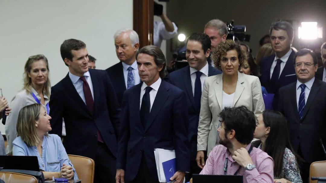 """Aznar, a Iglesias: """"Me parece un peligro para las libertades y la democracia"""""""