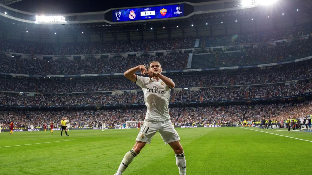 El Real Madrid se divierte y baila a la Roma en el Bernabéu