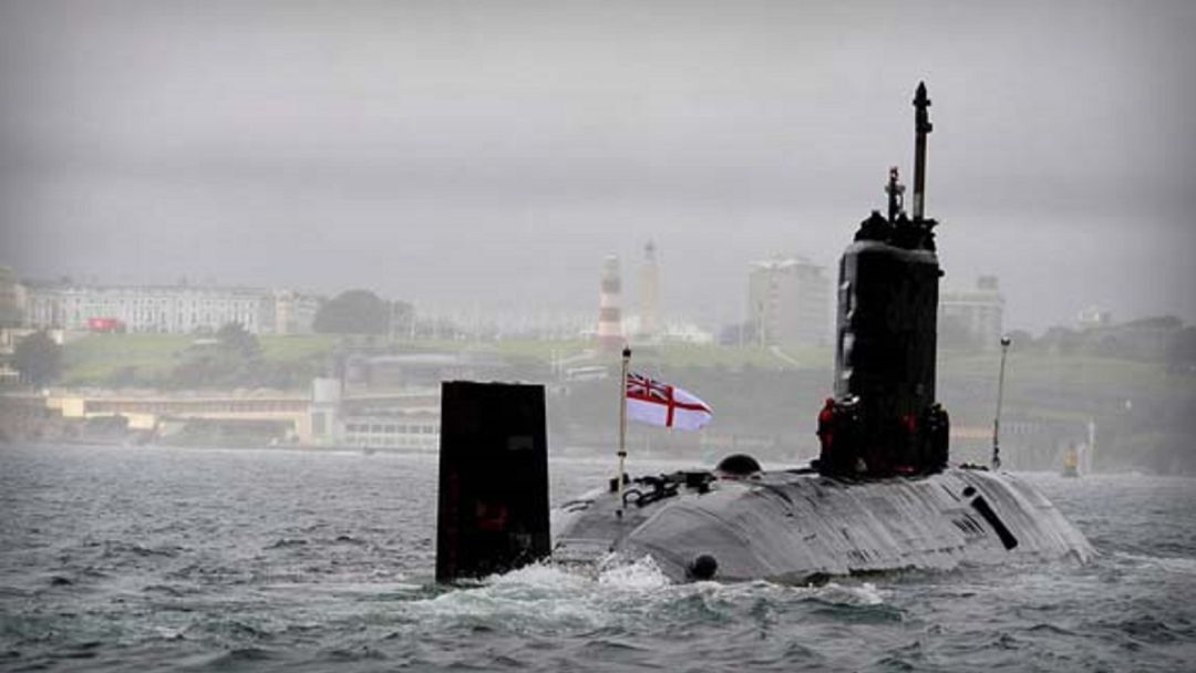submarino nuclear, HMS Talent